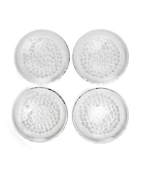 Orrefors - Pearl Dessert Plate, Set of 4
