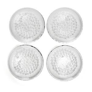 Orrefors Pearl Dessert Plate, Set of 4