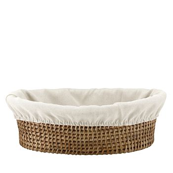 The French Chefs - Maria Rattan Bread Basket with Liner