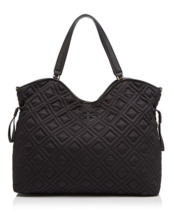 Tory Burch - Quilted Slouchy Diaper Bag