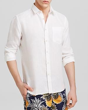 Vilebrequin Linen Button-Down Shirt - Regular Fit