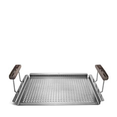 Schmidt Brothers BBQ Ash Grab & Grill Flat Grill Tray - Bloomingdale's_0