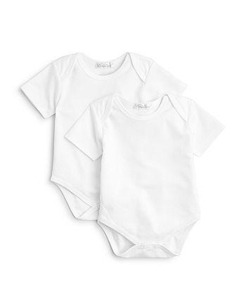 Kissy Kissy - Unisex Envelope Neck Bodysuit, 2 Pack - Baby