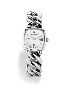 David Yurman - Albion Stainless Steel Watch with Diamonds, 23mm