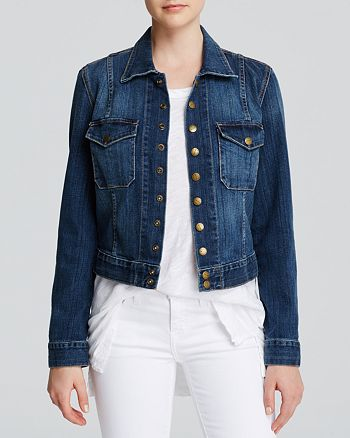 Current/Elliott - The Snap Jacket in Loved Wash