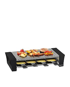 Swissmar - Ticino 8 Person Raclette Party Grill With Stone Plate