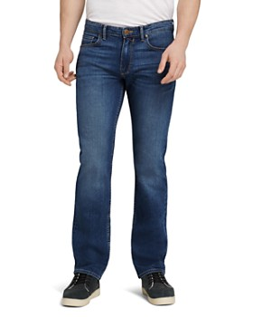 PAIGE - Transcend Normandie Straight Fit Jeans in Birch Medium