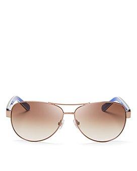 kate spade new york - Women's Dalia Aviator Sunglasses, 58mm