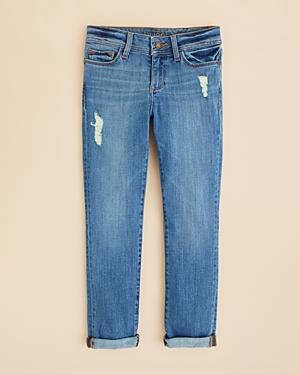 DL1961 Girls' Distressed Harper Ladybird Boyfriend Jeans - Big Kid