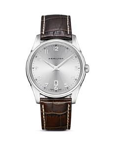 Hamilton Jazzmaster Thinline Quartz Watch, 42mm - Bloomingdale's_0
