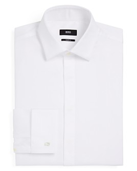 BOSS - Marlyn Tuxedo Sharp Fit – Regular Fit Dress Shirt