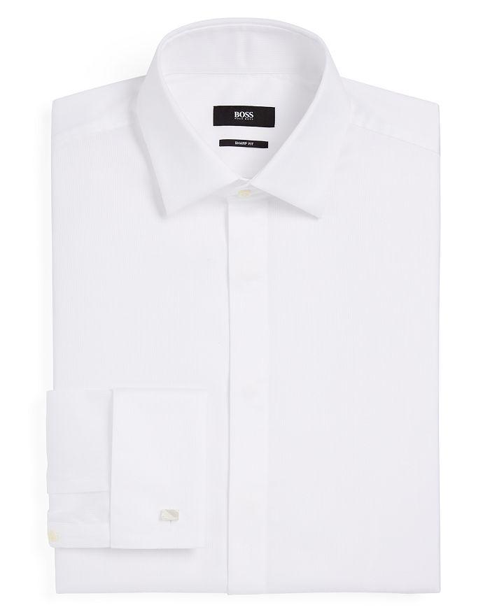 BOSS - Marlyn Tuxedo Sharp Fit – Regular Fit Dress Shirt