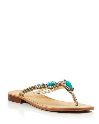 ca533d75f20078 IVANKA TRUMP - Sandals - Palla Embellished