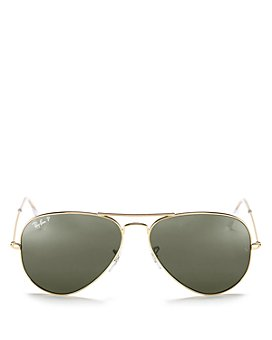 Ray-Ban - Unisex Polarized Aviator Sunglasses