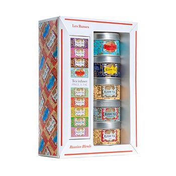 Kusmi Tea - Russian Blends Teas and Infuser Gift Set