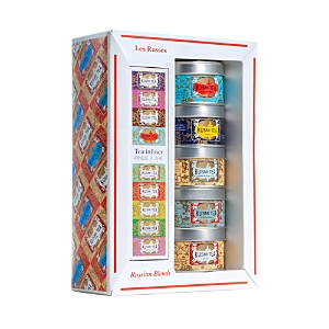 Kusmi Tea Russian Blends Teas and Infuser Gift Set