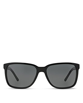Burberry - Men's Honey Check Square Sunglasses, 56mm