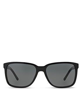 Burberry - Men's Honey Check Square Sunglasses, 56mm