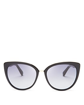 Jimmy Choo - Women's Dana Cat Eye Sunglasses, 56mm