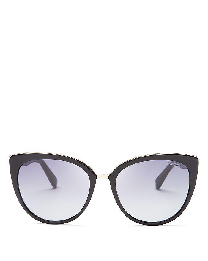 f05de0dd5184 Jimmy Choo Women's Dana Cat Eye Sunglasses, 56mm | Bloomingdale's