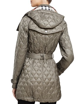 Burberry - Finsbridge Quilted Coat