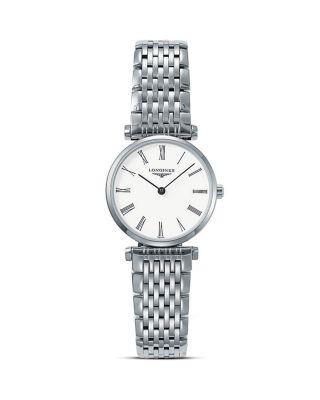 La Grande Classique Watch, 24Mm, Silver/ White/ Silver