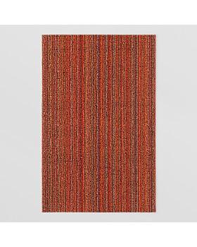"Chilewich - Skinny Stripe Indoor/Outdoor Shag Mat, 18"" x 28"""
