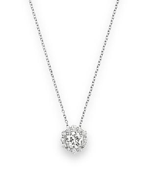 Diamond Pendant Necklace in 14K White Gold, .50 ct. t.w. - 100% Exclusive