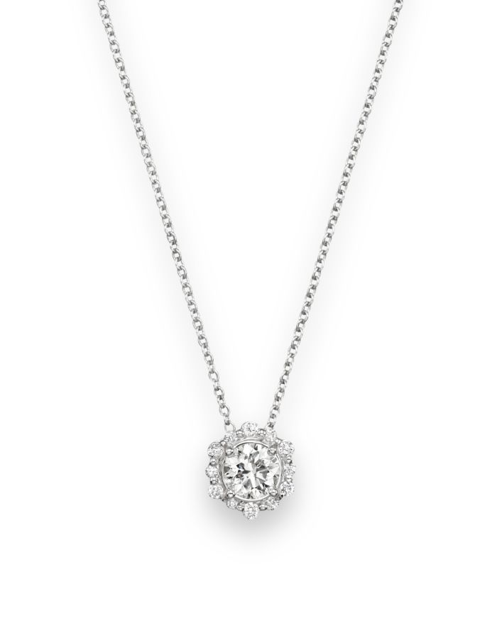 Bloomingdale's Diamond Pendant Necklace in 14K White Gold, .50 ct. t.w. - 100% Exclusive    Bloomingdale's