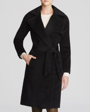 Trina Turk Delaney Alpaca Wrap Coat