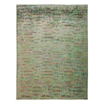 """Solo Rugs - Vibrance Collection Oriental Rug, 9'1"""" x 11'10"""""""