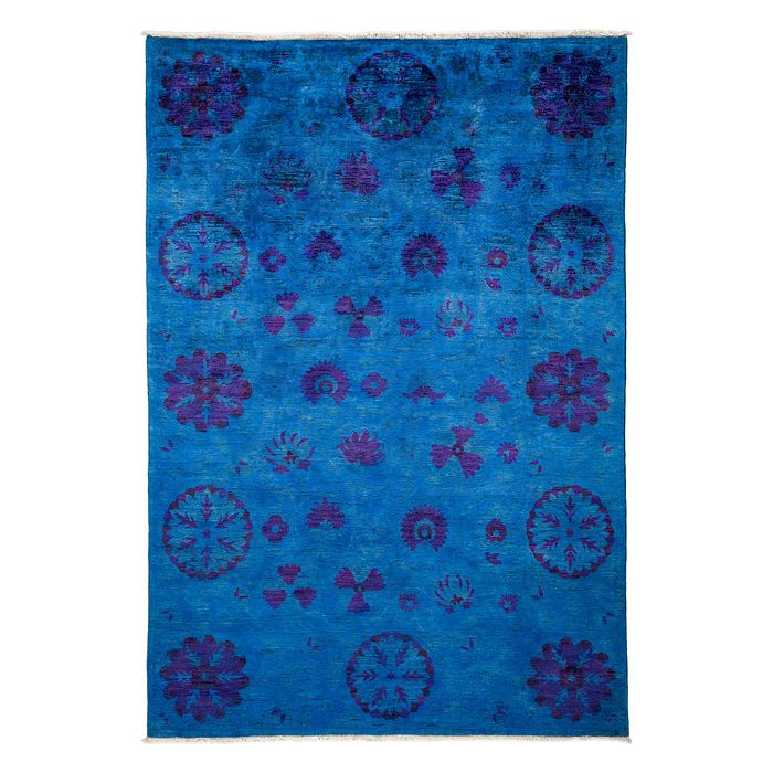 """Solo Rugs - Vibrance Collection Oriental Rug, 6' x 8'7"""""""
