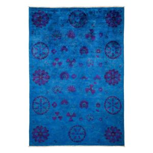 Vibrance Collection Oriental Rug, 6' x 8'7
