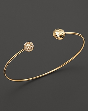 Kc Designs Diamond Double Circle Bracelet in 14K Yellow Gold