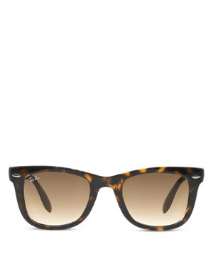 Ray-Ban Folding Wayfarer Sunglasses, 50mm