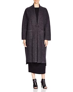 Eileen Fisher Open-Front Coat
