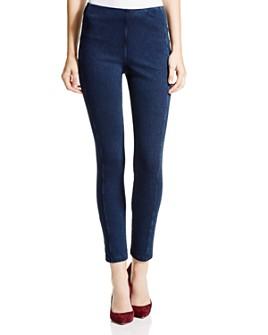Lyssé - Stretch Denim Zip Leggings