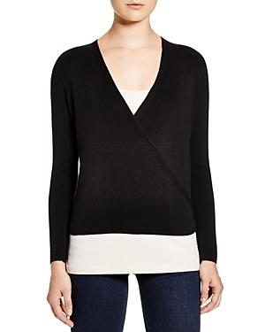 Nic + Zoe Long Sleeve Wrap Sweater