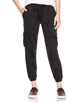 Bella Dahl - Cropped Cargo Track Pants