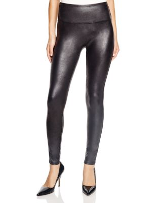 by Spanx Black Faux Leather Pants