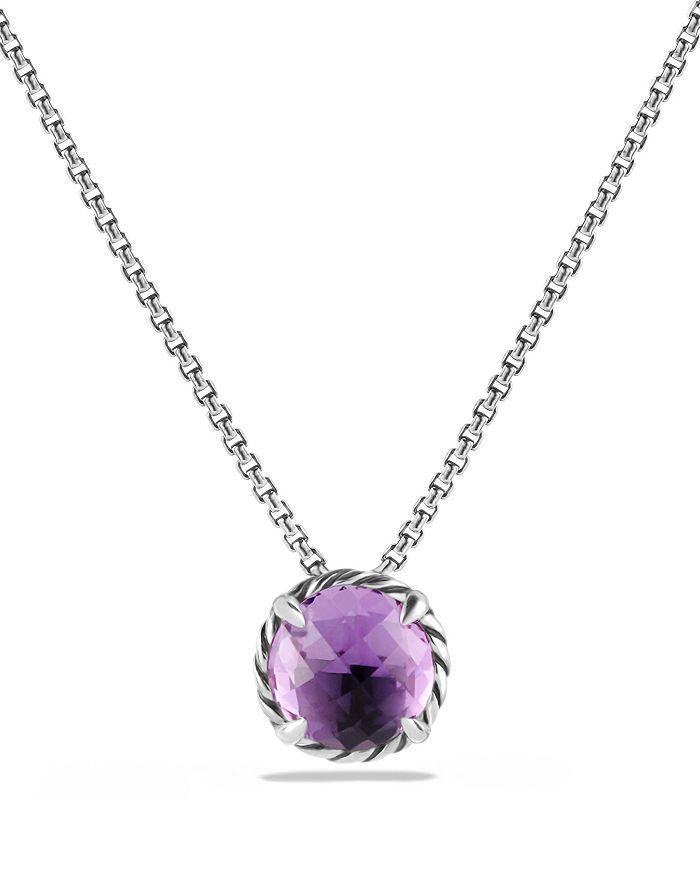 David Yurman - Châtelaine® Pendant Necklace with Amethyst