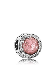 PANDORA Moments Collection Sterling Silver, Crystal & Cubic Zirconia Radiant Hearts Charm - Bloomingdale's_0