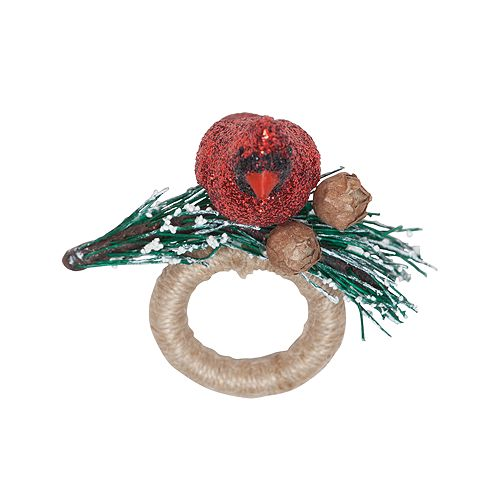 Juliska - Cardinal Ruby Napkin Ring