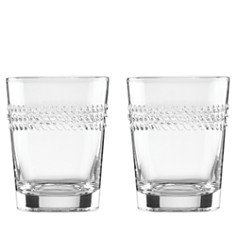 kate spade new york Wickford Double Old-Fashioned Glass, Set of 2 - Bloomingdale's_0