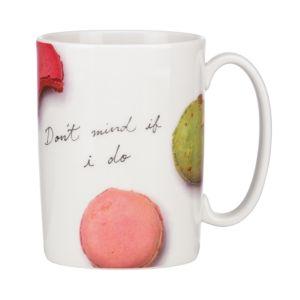 kate spade new york Don't Mind If I Do Macaroons Mug