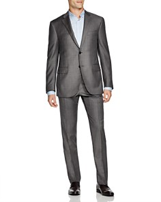 Corneliani - Academy Regular Fit Sharkskin Suit