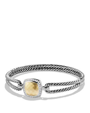 David Yurman - Albion Bracelet with Diamonds and Gold