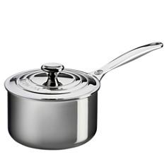 Le Creuset Stainless Steel 2-Quart Saucepan with Lid - Bloomingdale's_0