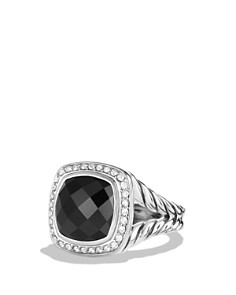 David Yurman - Albion Ring with Black Onyx and Diamonds