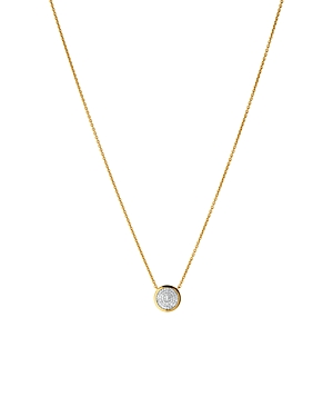 Links Of London LINKS OF LONDON DIAMOND ESSENTIALS PAVE ROUND NECKLACE, 15.3